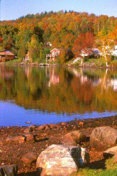 Lake Elmore Vt >> Fall Foliage Scenes from New England - New England Travel