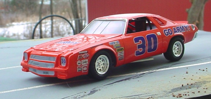 Model King Chevy S And A Lindberg Chevelle Stock Car Scale