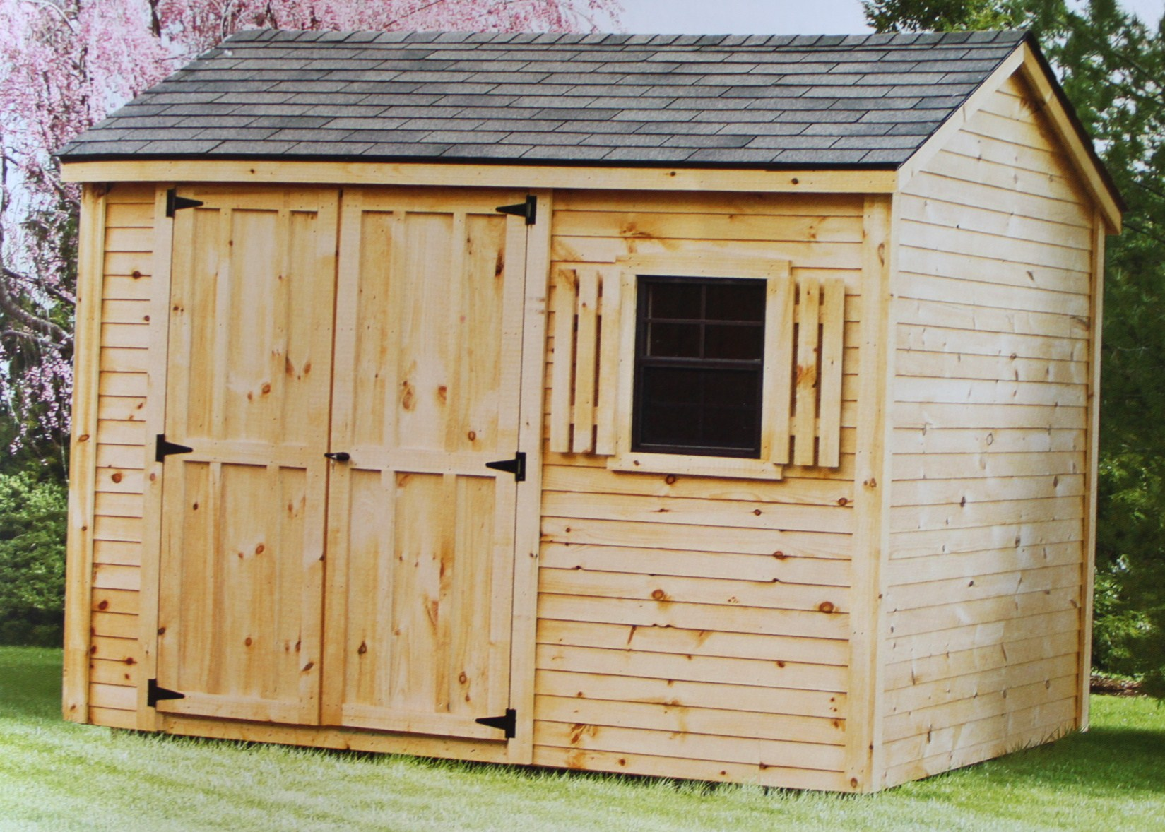 Storage Sheds 1 2 Car Garages Playhouses Board And