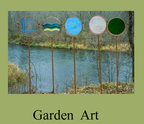 More circles for Garden artist designs