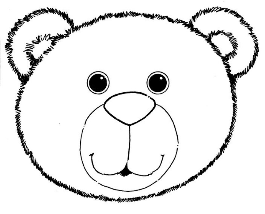 bear head coloring page brown bear brown bear what do you see the virtual vine