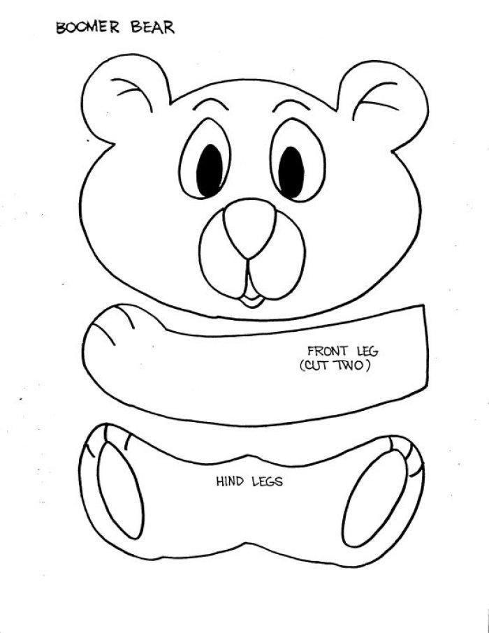 Paper Bag Puppet Template Paper Bag Puppet Template