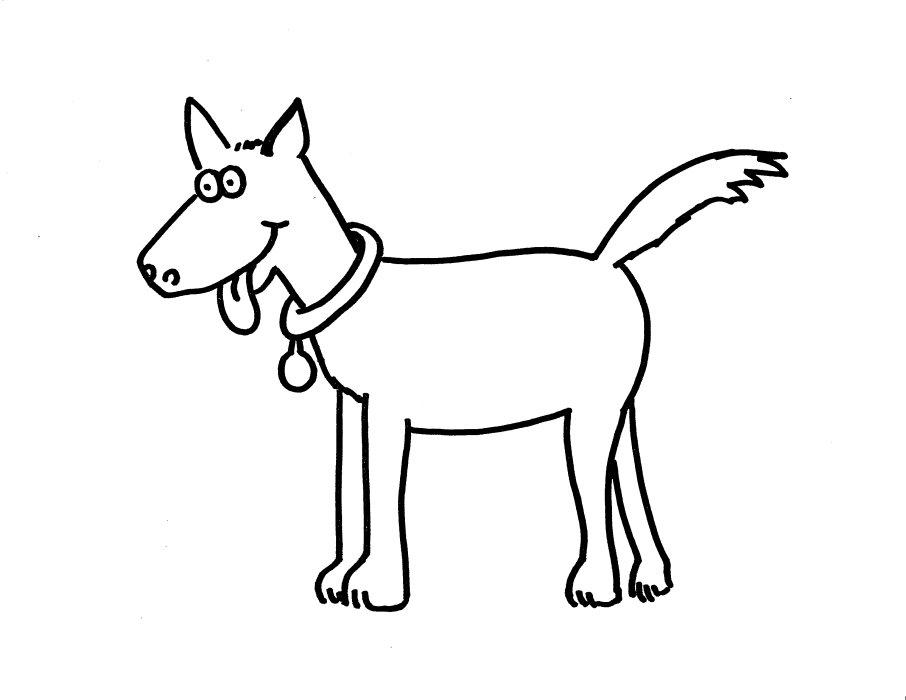 Hayvanlar boyama sayfası