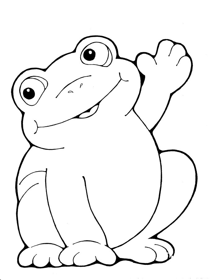 Cute Frog Template amp Toad The Virtual Vine