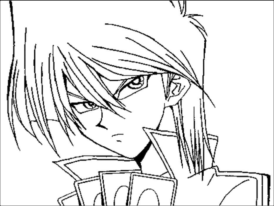 Раскраски аниме мальчики - 5