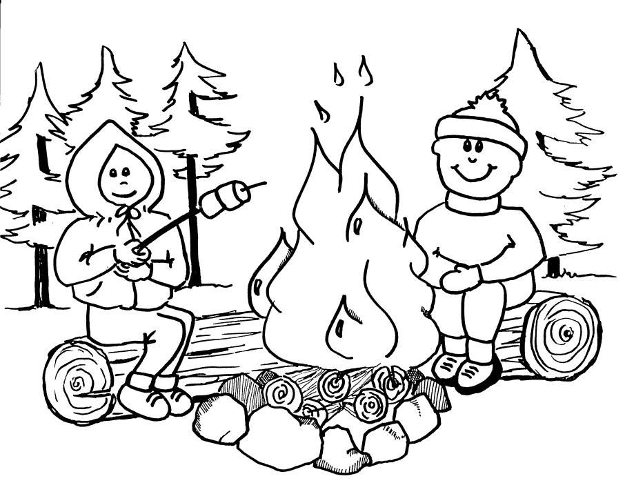 Big Red Barn Fire Coloring Pages - Worksheet & Coloring Pages