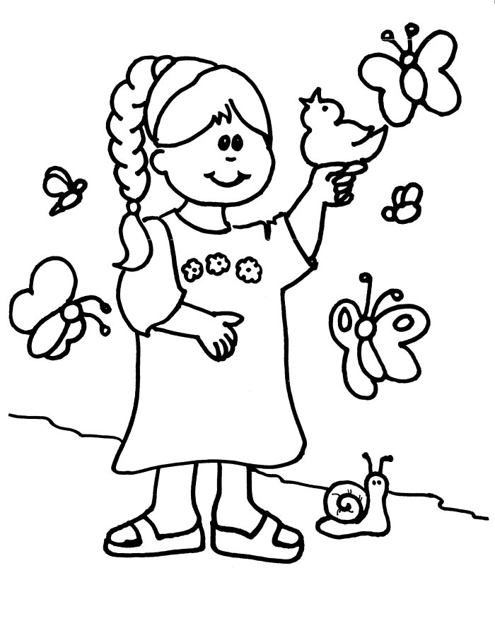 coloring pages for a person - photo#31
