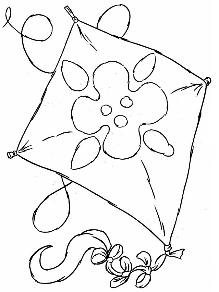 kite coloring page design. coloring pages for kids. animals, cartoons,
