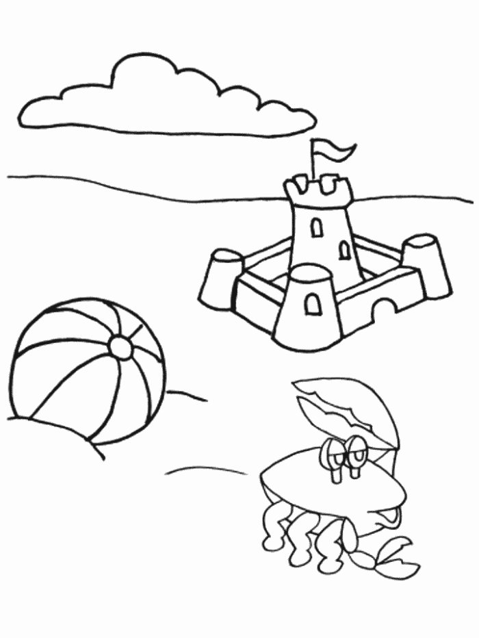 Summer coloring pages collections 2010 for Summer coloring book pages