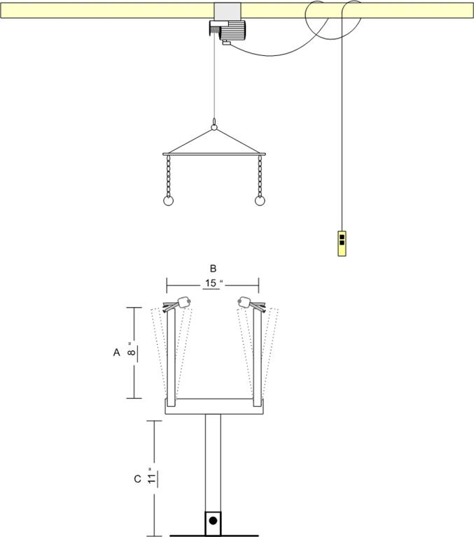 Skinning machine plans general trapping archive trapperman com