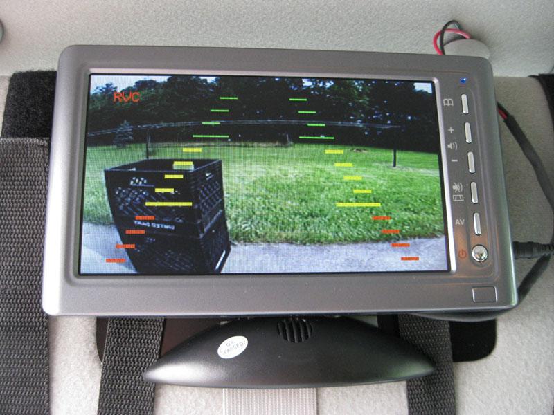 2004 F250 Reverse Backing Alert System