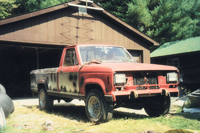 Ford Ranger Xlt >> 1984 Ford Ranger R.I.P