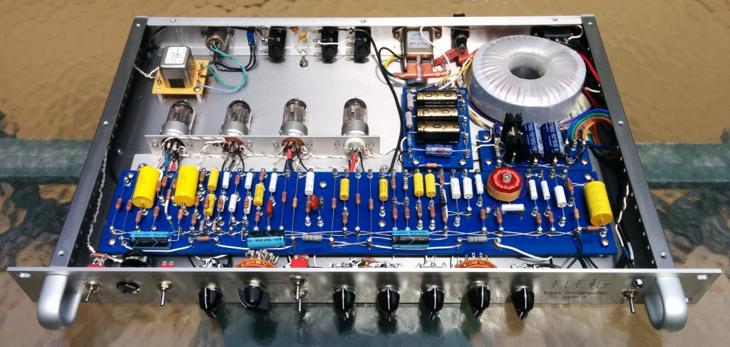 Diy Bass Preamplifier In The Ampeg Svt