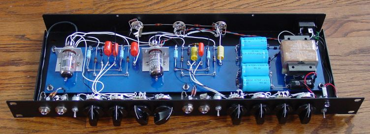 Dual Channel Blackface Style Preamp For Bass Guitar