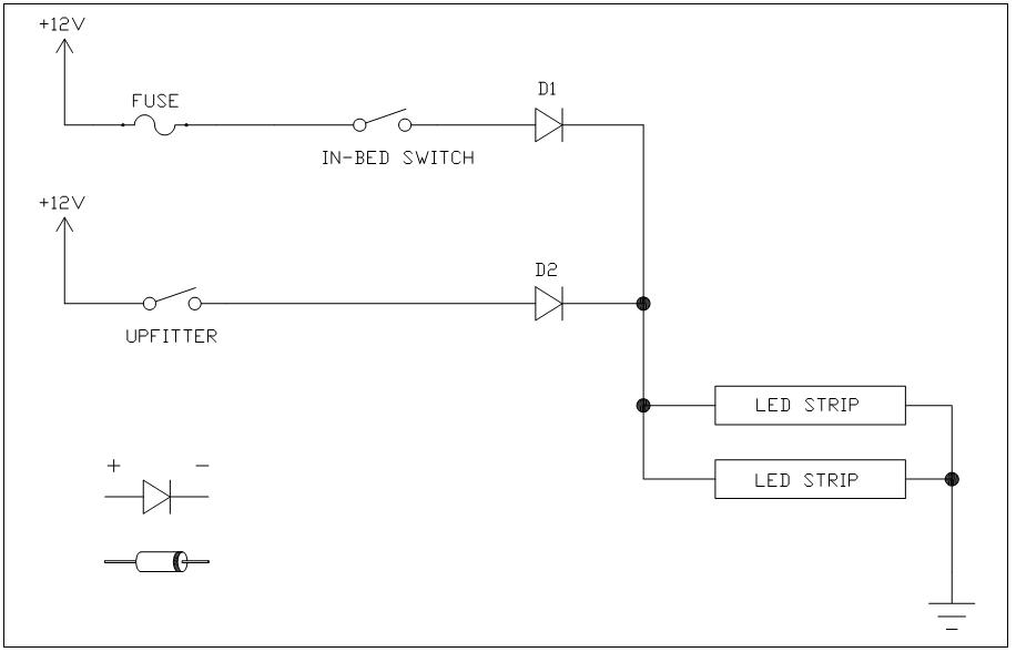 Wifi Wiring Diagram likewise Speaker Wire Harness Adapter together with Wiring Trailer Plug moreover Capacitor Circuit Symbol also 184. on strip led backup light wiring diagram