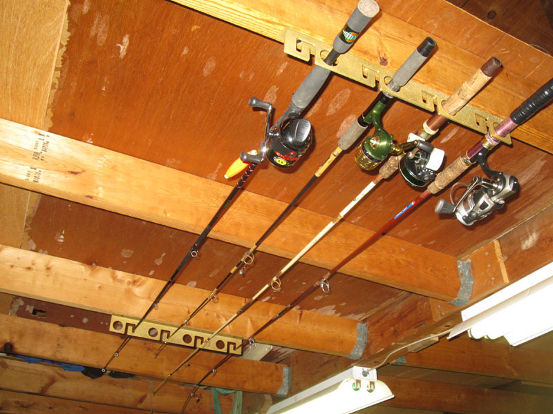 Ceiling Rod Rack Plans