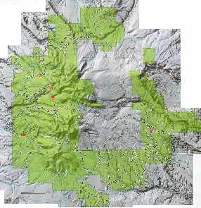 La Sal Maps And Recreation - Us forest map 1800s