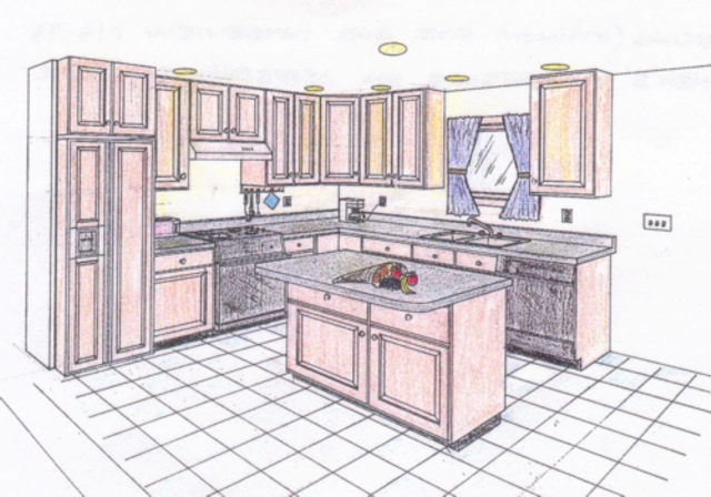 Kitchen Perspective Images