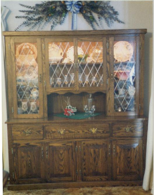 Jeffart Stained Glass Hutch