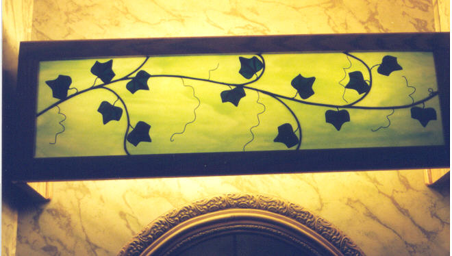 Stained Glass Bathroom Vanity Lights jeffart stained glass - ivy vanity
