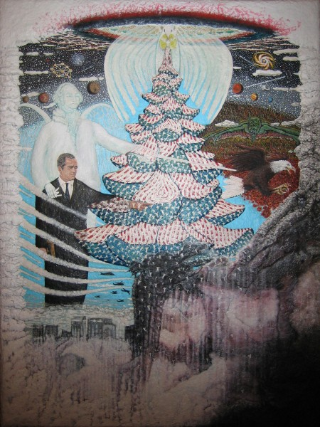 Tree of Life   9/11   Original Art Oil Painting