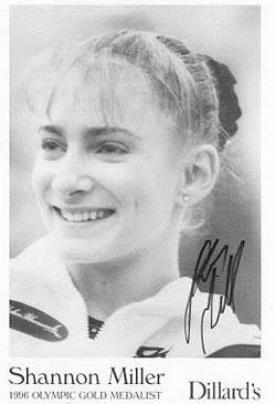 Gymnastic Autographs #... Christina Ricci