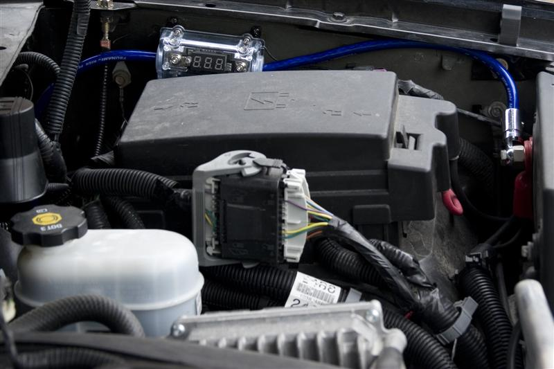 Amp on Chevy Truck Wiring Harness
