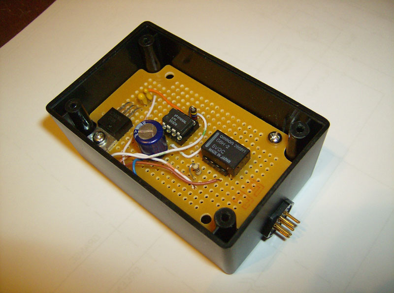 Time Delay Relay Circuit Using 555