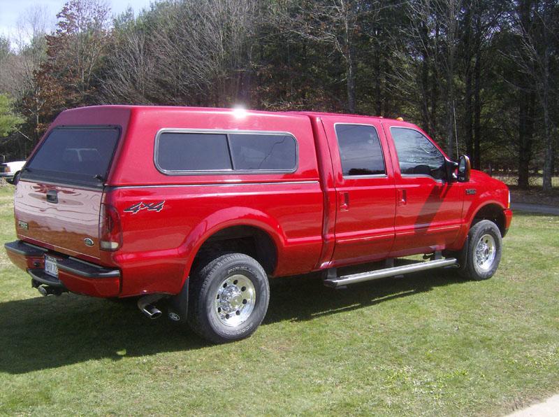 2004 f250 truck cap rear wiper