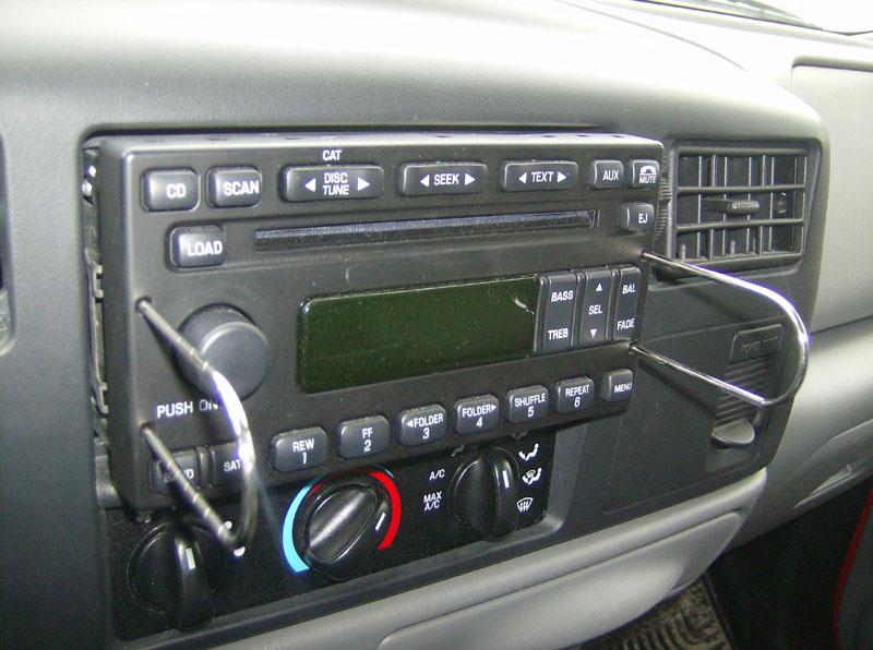 2004 F250 Stereo Upgrade