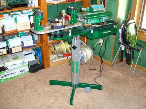 prince 5000 electronic stringing machine