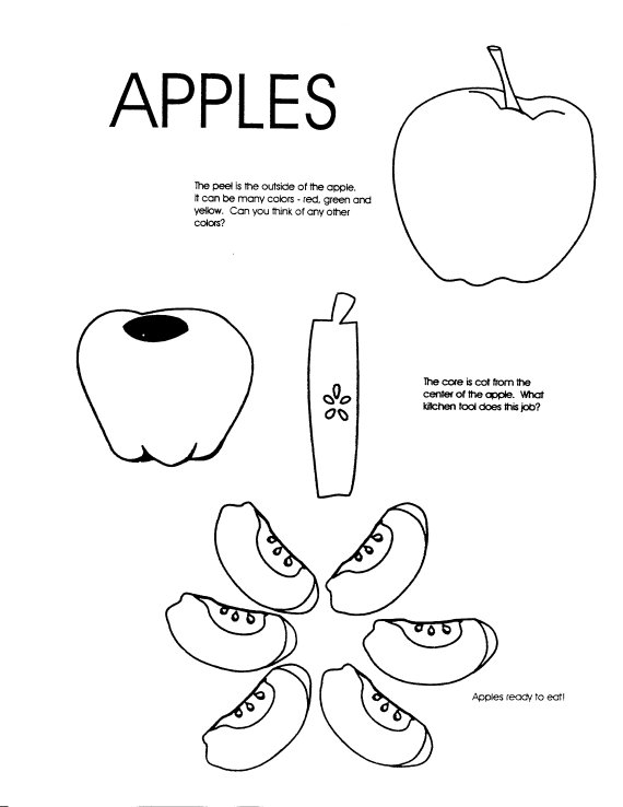 Food Coloring Sheets Janice S Daycare